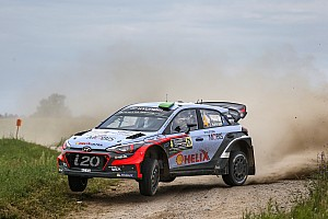WRC Leg report Hyundai Motorsport on podium course as Paddon maintains pressure in Poland
