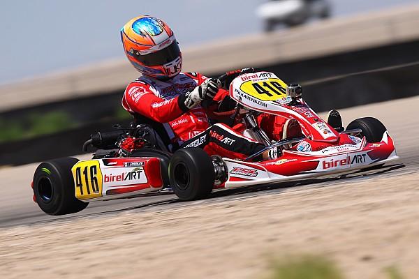Kart Qualifying report BirelART karts dominate Saturday heat races in Utah