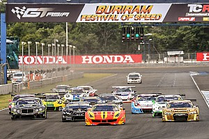 Asian GT Race report Liu and Rizzo take the new Ferrari 488 to victory in Thailand