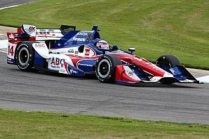 IndyCar Practice report AJ Foyt Racing duo head up second practice