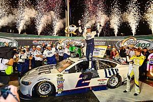 NASCAR Sprint Cup Race report Brad Keselowski saves just enough to win Kentucky thriller