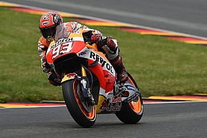 MotoGP Breaking news Marquez's winning MotoGP bike rebuilt in under two hours