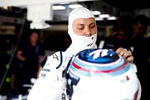 Formula 1 Breaking news Williams worried by Bottas seatbelt issue