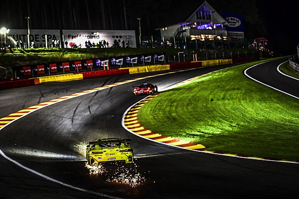 Blancpain Endurance Spa 24 Hours: Bentley leads at halfway point