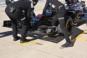 Un aileron avant pour préparer 2017 chez McLaren