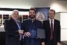 TCR Stefano Comini premiato in Svizzera per i trionfi del 2016