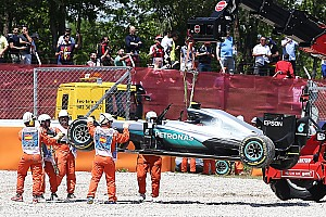 "Formula 1 Interview ""Optimistic"" Hamilton to blame for Barcelona clash, says Montoya"