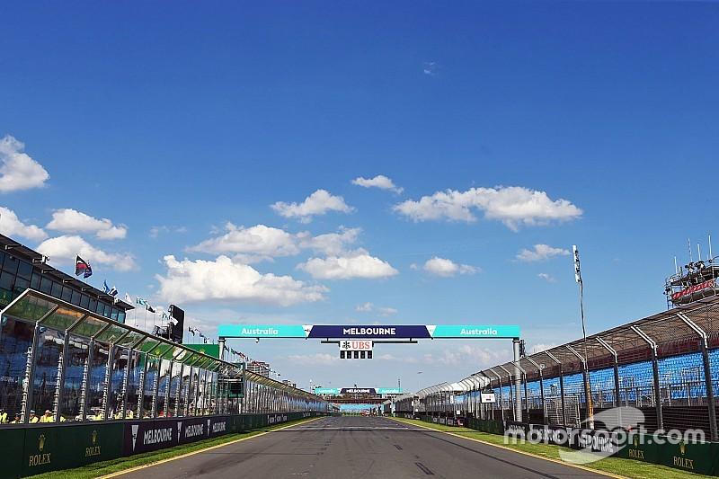 Timetable of the 2016 Australian Grand Prix
