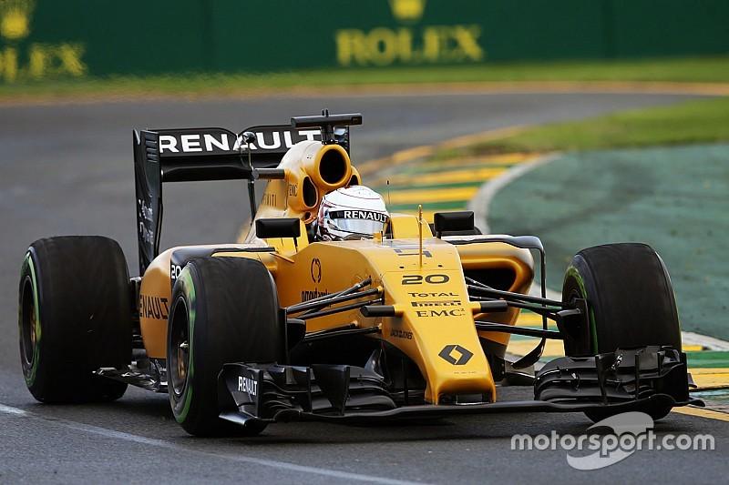 A wet start to Renault Sport Formula One Team in Australia