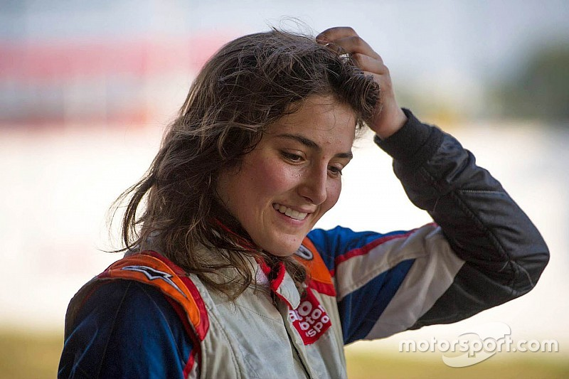 "Tatiana Calderon: ""Not the best weekend, but a great season!"""