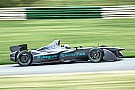 Formula E Jaguar addressing car issues as Formula E testing continues