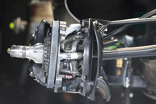 Formula 1 Tech analysis: Mercedes pushes boundaries with 'scallop' brake disc