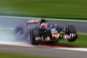 "Formula 1 Breaking news Kvyat: Zero tolerance track limits better than ""joke"" kerbs"