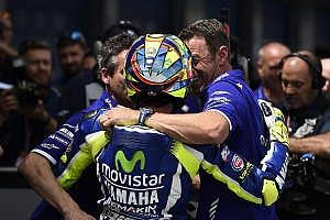 "MotoGP Breaking news Rossi hails ""perfect weekend"" after Jerez MotoGP win from pole"