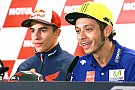 "MotoGP Rossi ""feels the same"" about Marquez clash one year on"