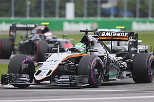 Formula 1 Race report Both Sahara Force India cars finished inside the top ten