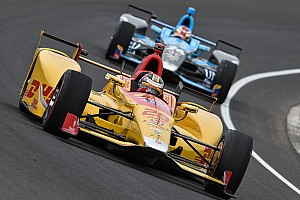 IndyCar Practice report Hunter-Reay leads first two hours of Wednesday practice