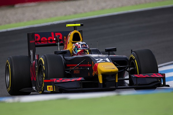 GP2 Breaking news Gasly disqualified over empty fire extinguisher