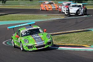 Carrera Cup Italia Gara Mattia Drudi imprendibile nella prima gara di Imola della Carrera Cup Italia