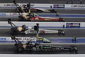 NHRA Qualifying report Hagan, Torrence, Anderson and Krawiec LEAD Friday Qualifying at Four-Wide Nationals