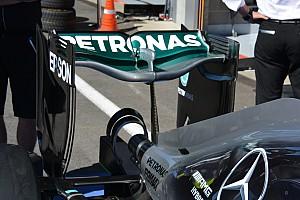 Formula 1 Analysis Bite-size tech: Mercedes 'spoon' rear wing