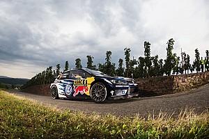 WRC Leg report Germany WRC: Mikkelsen maintains lead, Paddon survives off