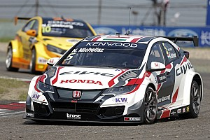 WTCC Breaking news Shanghai WTCC: Honda wins MAC3 after Bennani's Citroen stalls