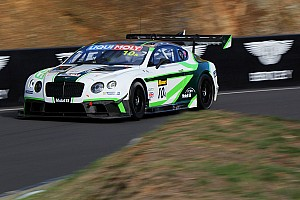 Endurance Practice report Bathurst 12 Hour: Bentley ends Day 1 fastest