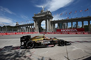 """IndyCar Breaking news Hinchcliffe relieved """"insanely bad luck"""" at Toronto is over"""