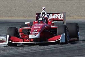 Indy Lights Race report Veach wins again, but Jones is champion