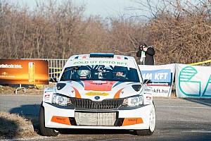 Rali Ob BRÉKING Vincze Ferenc nyerte a 18. Szilveszter Rallye-t
