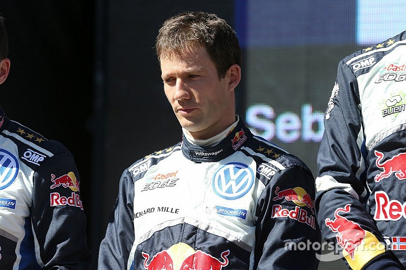Ogier completes first post-season test with Toyota