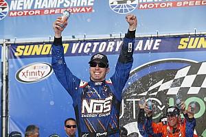 NASCAR XFINITY Race report Kyle Busch takes NHMS Xfinity win, Ty Dillon and Alex Bowman clash