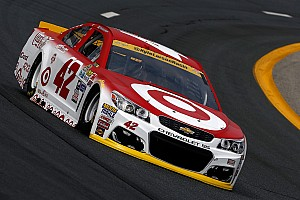 NASCAR Sprint Cup Practice report Larson tops Saturday morning Sprint Cup practice