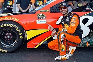 NASCAR Sprint Cup Qualifying report Truex scores pole position at Talladega