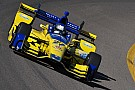 Andretti tops Phoenix evening test session