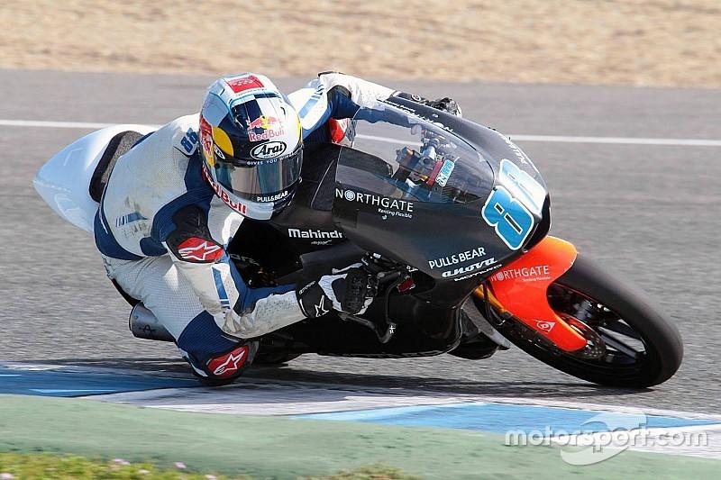 Martin on new Mahindra bike: