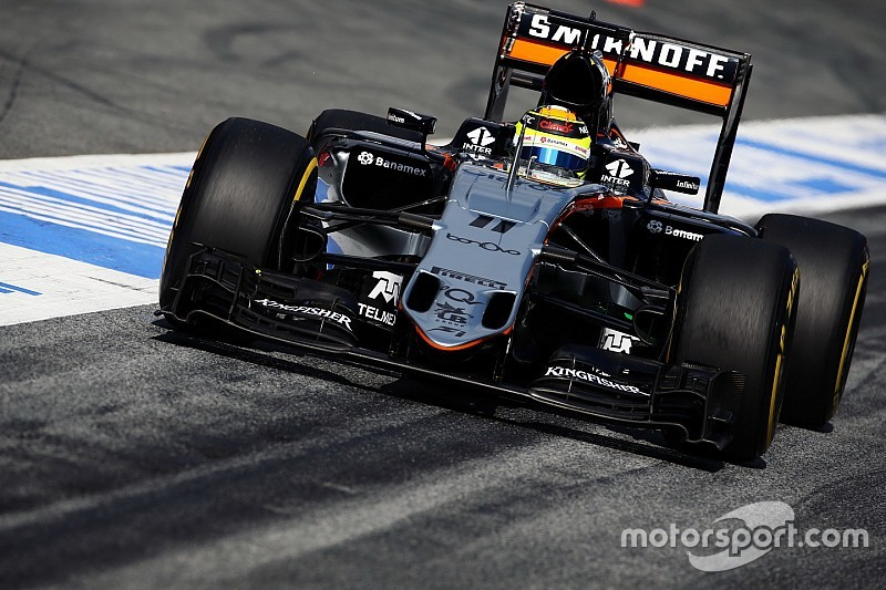 Perez: Force India podiums 'far away' right now