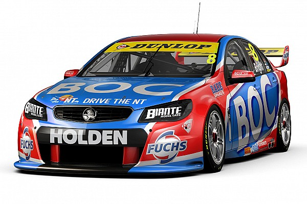 V8 Supercars New car, paint for Jason Bright