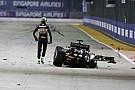 Formula 1 Hulkenberg: Run of first lap crashes