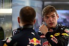 Verstappen: Team told me to stop where I did