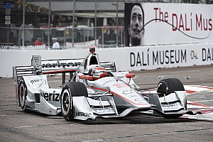 IndyCar Practice report Power bounces back to set pace in second practice