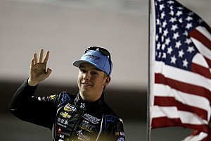 NASCAR Truck Interview Teenaged phenomenon Nemechek heads Truck points into Kansas