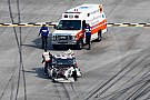 Logano walks away from crash: Sadler knew