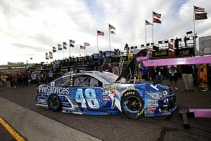 NASCAR Sprint Cup Interview Johnson takes blame for dislodged steering wheel and crash