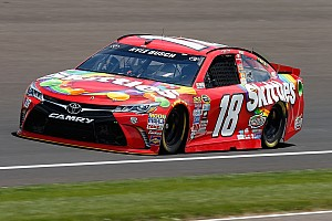 NASCAR Sprint Cup Qualifying report Defending Brickyard 400 winner Kyle Busch earns pole position