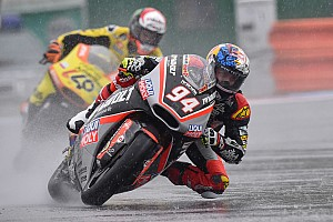 Moto2 Race report Brno Moto2: Folger wins in the wet, disaster for Zarco