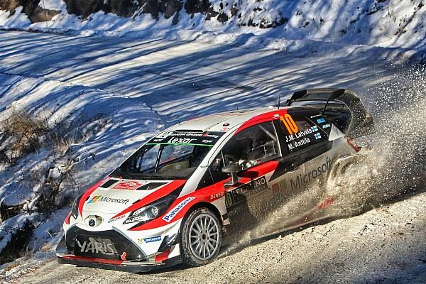 WRC 速報ニュース 【WRC】開幕戦Day2トヨタ:好調さが続きラトバラが総合4番手に浮上