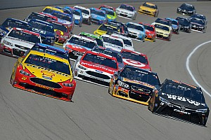 NASCAR Sprint Cup Breaking news 2017 NASCAR rules package to be used once again at Michigan
