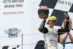 Moto3 Breaking news Bagnaia eyes second in Moto3 standings after another podium